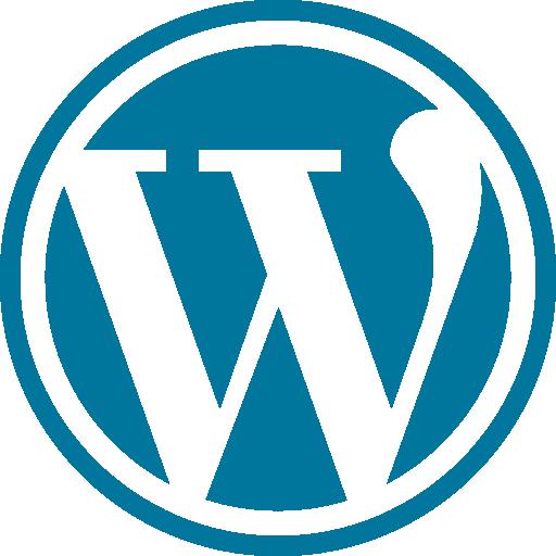 wordpress logo website content management system